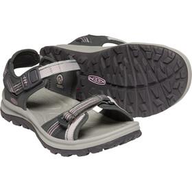 Keen Terradora II Sandalias de Dedo Abierto Mujer, gris